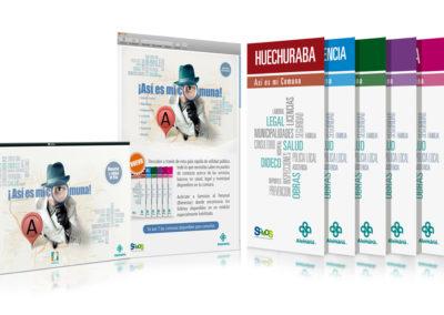 Campaña promo folletos comunales / Clínica Alemana