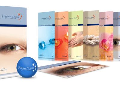 Merchandising para Programa Orienta (orientación psicológica y asesoría para funcionarios) / Banco de Chile