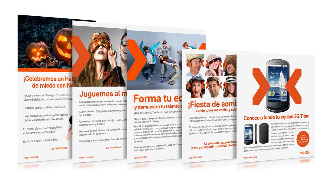 Comunicados / Nextel