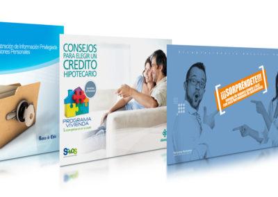 Folletos convenios / Clínica Alemana  • Banco de Chile • Sura