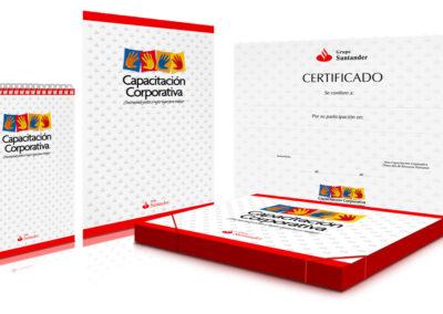 Kit de Capacitación / Banco Santader